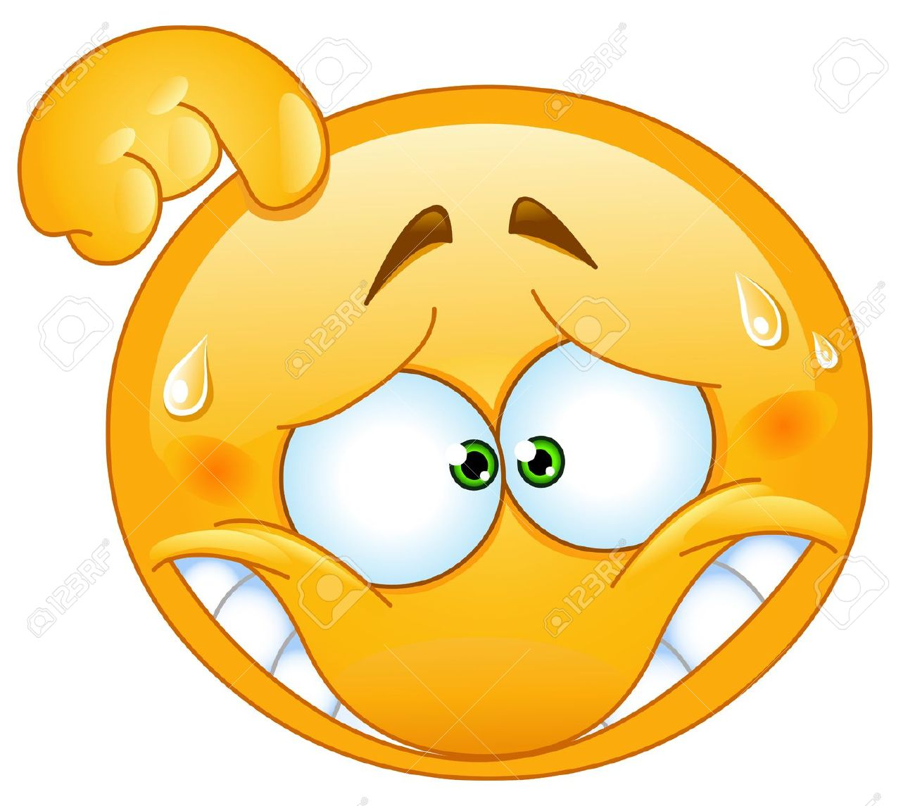 21014553-Embarrassed-emoticon-Stock-Vector-smiley-emoticon-face